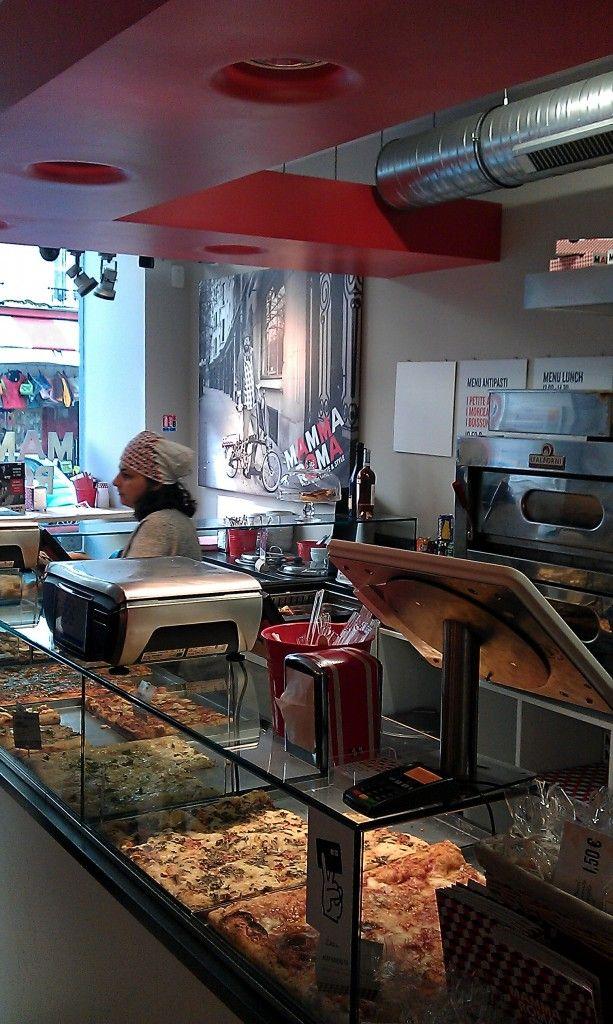 Mamma Roma  Cantine italienne rapide, produits frais à Paris 90 rue Oberkampf dans le 11ème