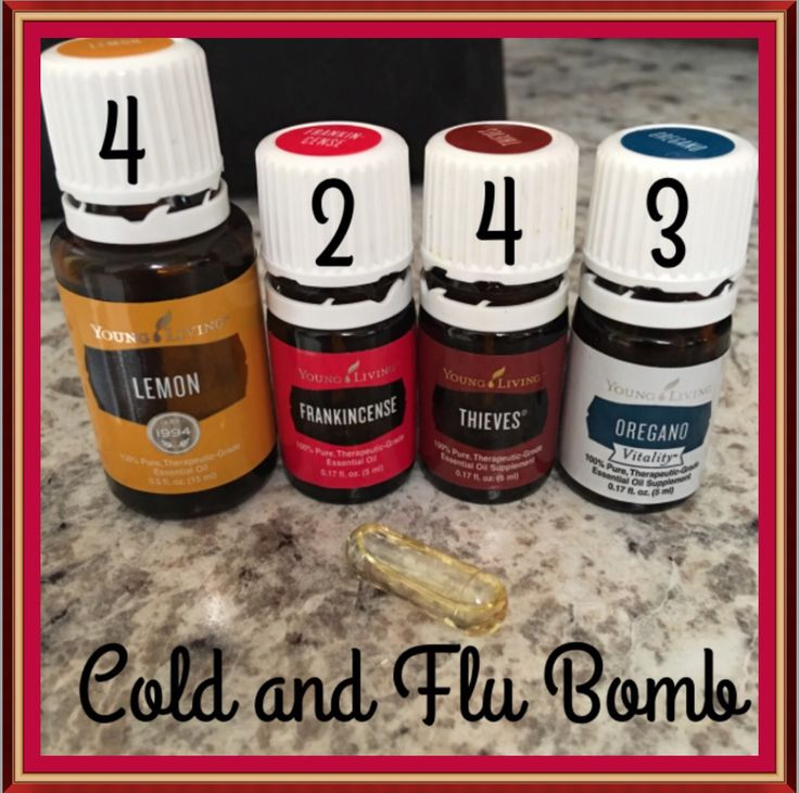 Whipping up some more these cold and flu bobs.These bad boys are definitely keeping what I'm feeling coming on at arms length. I refuse to get super sick. 4 drops Lemon, 4 drops Thieves, 4 drops Oregano, 4 drops Frankincense. Top capsules with carrier oil. Take 2-3 times daily.