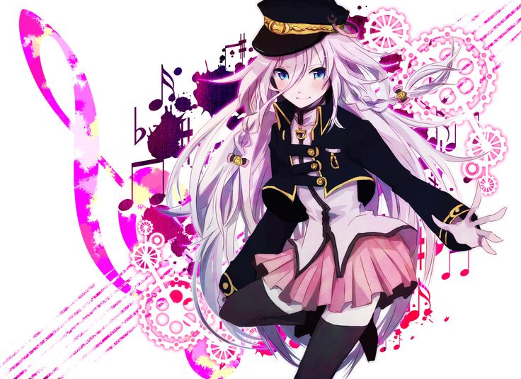 Anime Vocaloid IA (Vocaloid) Wallpaper
