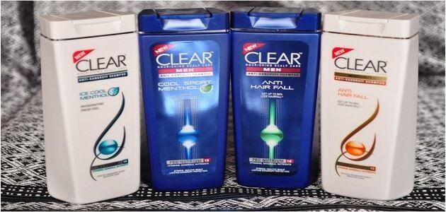 ما أنواع شامبو كلير للرجال والنساء ضد القشرة Soap Bottle Shampoo Clair