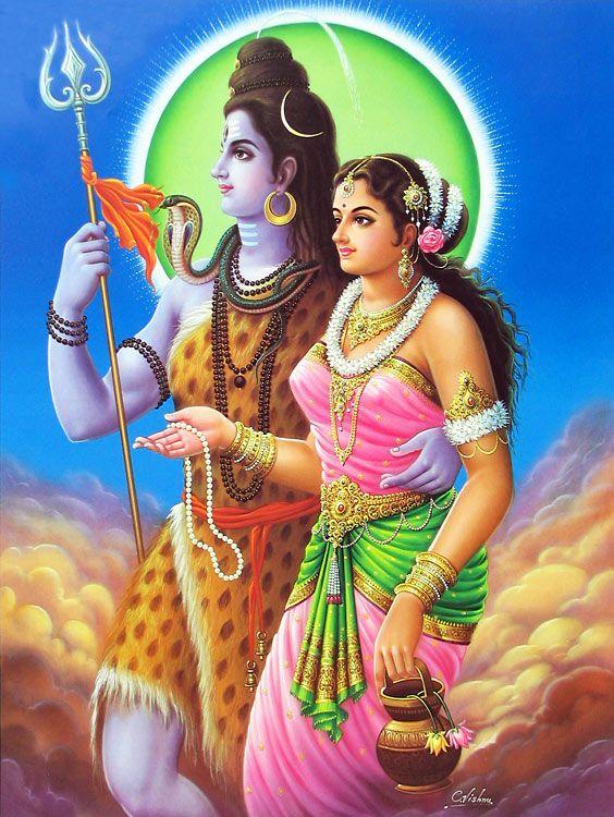 Шива с женой картинки