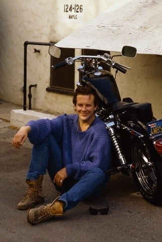 Mickey Rourke younger days