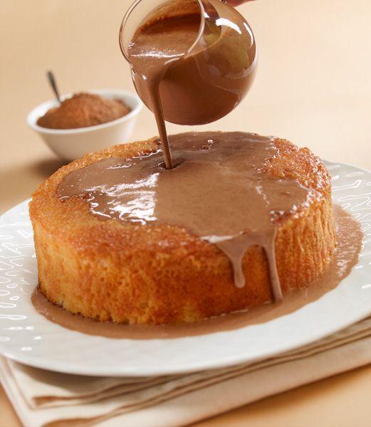 Pastel tres leches de chocolate ABUELITA® - Recetas Nestlé - 410
