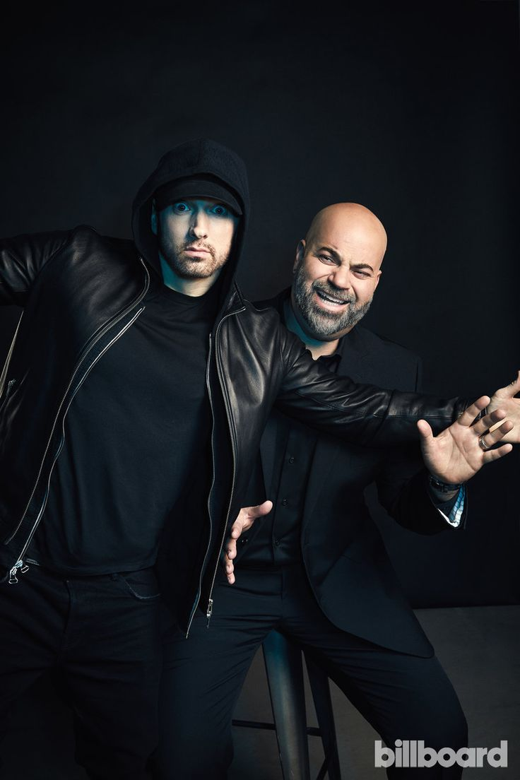 Photos of Eminem and Paul Rosenberg from Billboard's Power 100 issue.