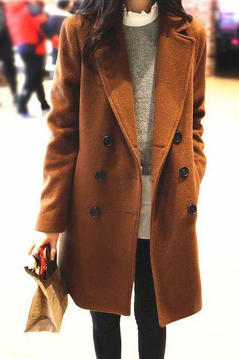 Fashion Girl Winter Coat Lady Outerwear Jacket on Luulla