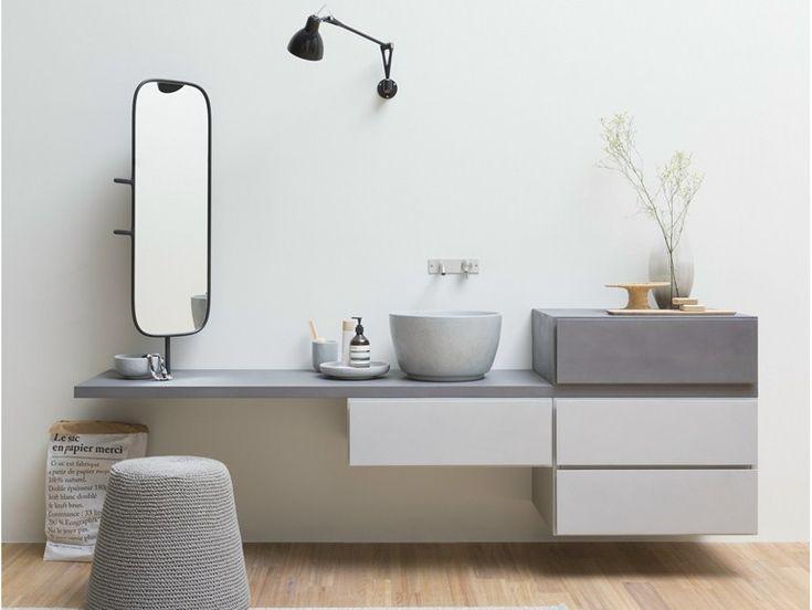 Die besten 25+ Waschtischunterschrank hängend Ideen auf Pinterest ... | {Waschtischunterschrank modern 94}