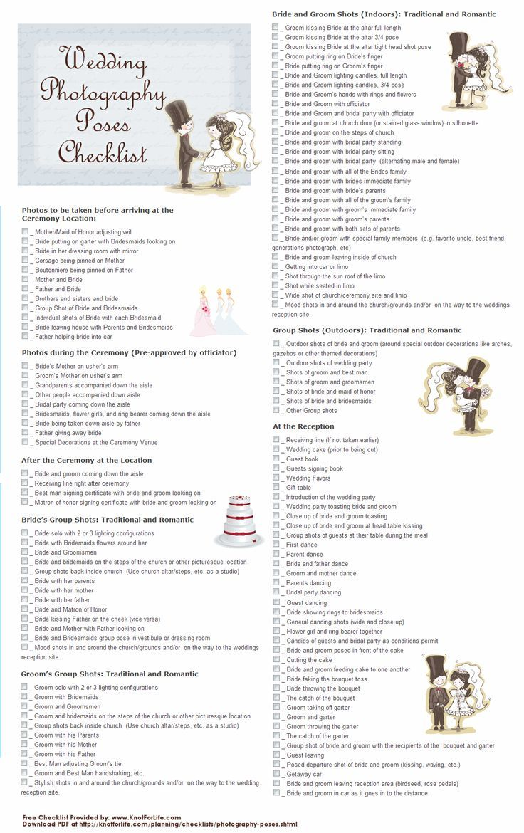 36 Best Wedding Photography Tips Checklist Images On