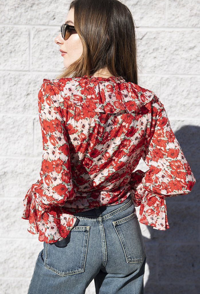acd5dfb5564bfd Roisin Floral Blouse Diana in 2019 | R T W | Floral blouse, Blouse ...