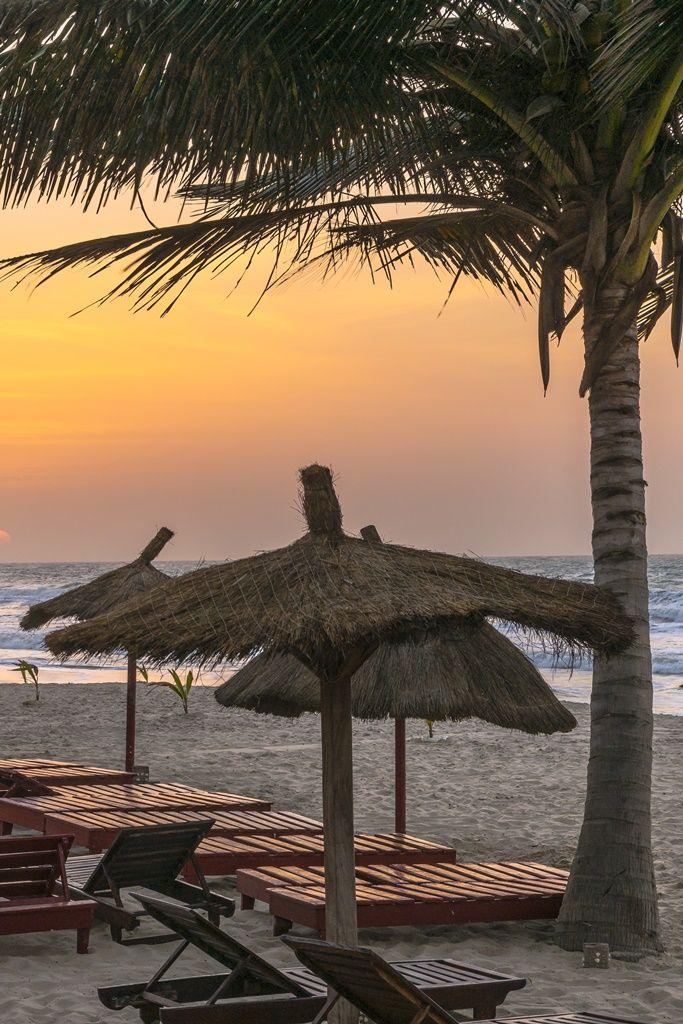 Beautiful sunset on the beach! #Gambia #travelideas #traveltips #traveldestination #placestovisit #placestogo #destinationideas #vacationideas www.haisitu.ro