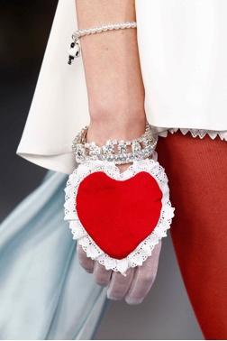 Meadham Kirchhoff Heart Bracelet- London Fashion Week 2012