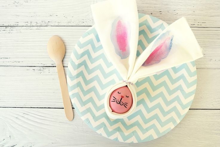 CraftWithMom: Egg Bunnies for our Easter table decoration!   Αυγά - Λαγουδάκια για το Πασχαλινό μας τραπέζι!