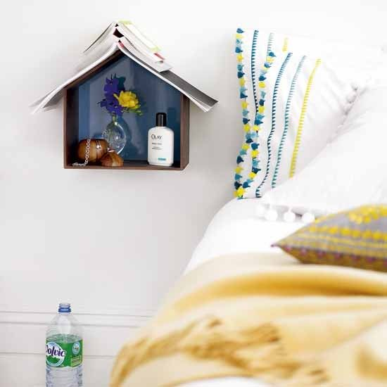 Quirky bedroom storage | Bedroom decorating | Bedside table | housetohome.co.uk