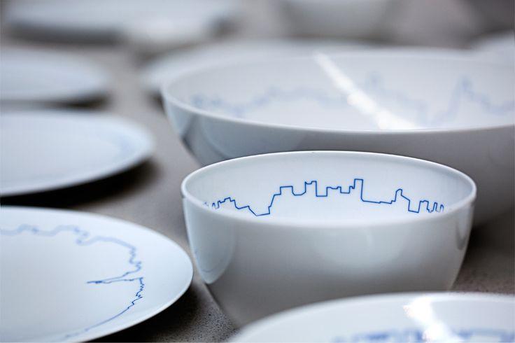 piatti bianchi linea skyline