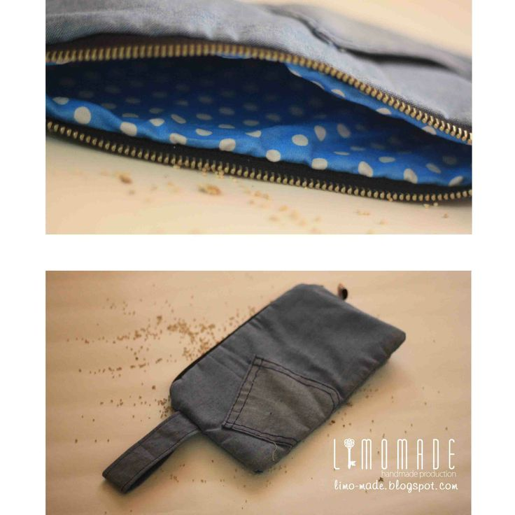 P2-06 | 60K | material : soft jeans, cotton, busa | size : 23 x 13 cm | check this limo-made.blogspot.com #handmade #limitededition #pouch #onlineshop #semarang #craft #indonesia