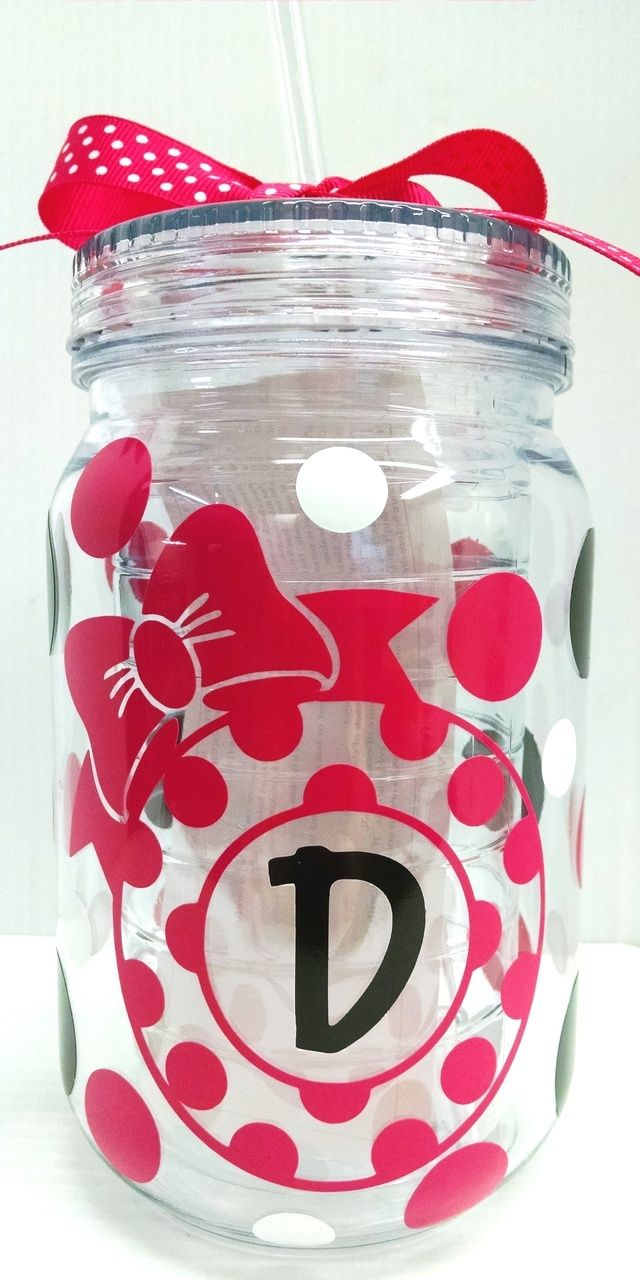 Jodi's Accessories - Polka Dot with Bow Double Wall Mason Jar Tumbler with Straw, $12.00 (http://www.jodisaccessories.net/products/polka-dot-with-bow-double-wall-mason-jar-tumbler-with-straw.html)