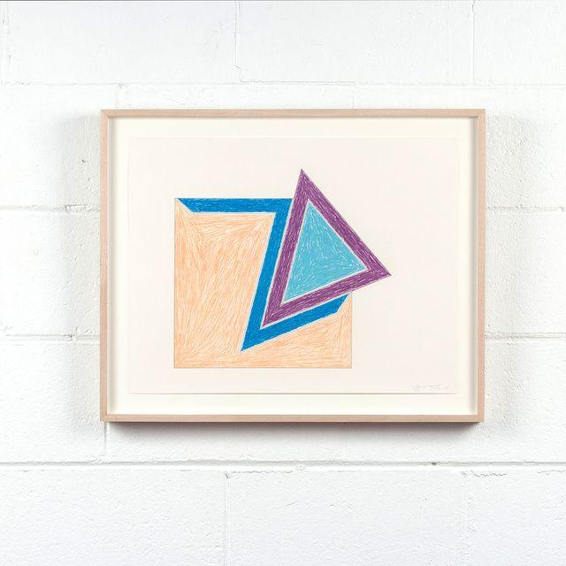 Frank Stella | Eccentric Polygon (1974) | Available for Sale | Artsy