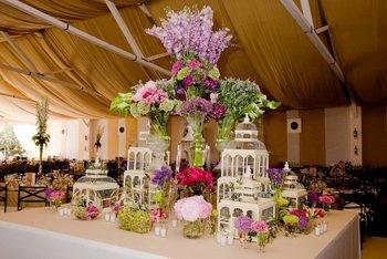 Decoraci n con jaulas inspiracion para bodas wedding - Decoracion con jaulas ...