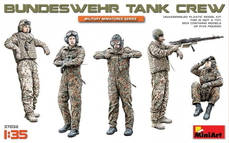 New #MiniArt's Kit In Progress:  37032 BUNDESWEHR TANK CREW http://miniart-models.com/37032/