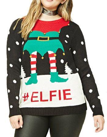 De lelijke kersttrui is een musthave voor #kerst   Deze #plussize truien zijn zo leuk!!