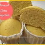 steamed corn cake