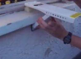 How To Install a Window Air Conditioner Support Bracket Step 5