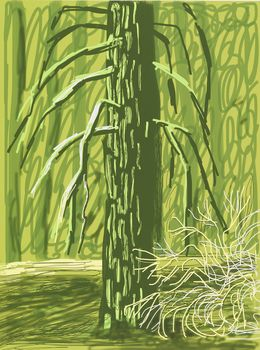 """David Hockney, '""""Untitled No. 18"""" from """"The Yosemite Suite"""",' 2010, L.A. Louver"""