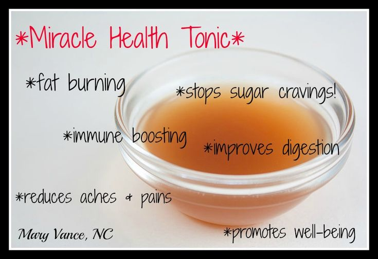 Miracle health tonic that boosts immune health, metabolism, digestion, and overall wellness.