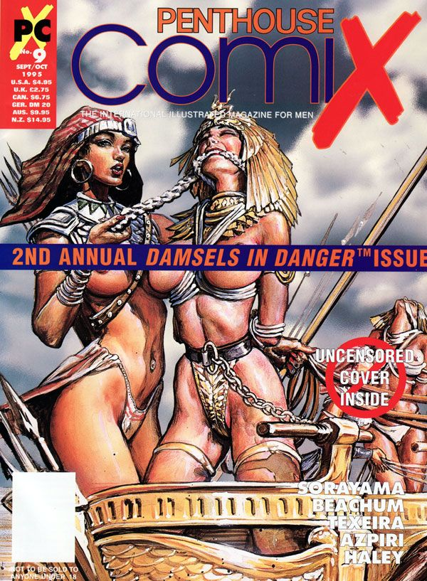 Penthouse Comix # 9 - Sept/Oct 1995