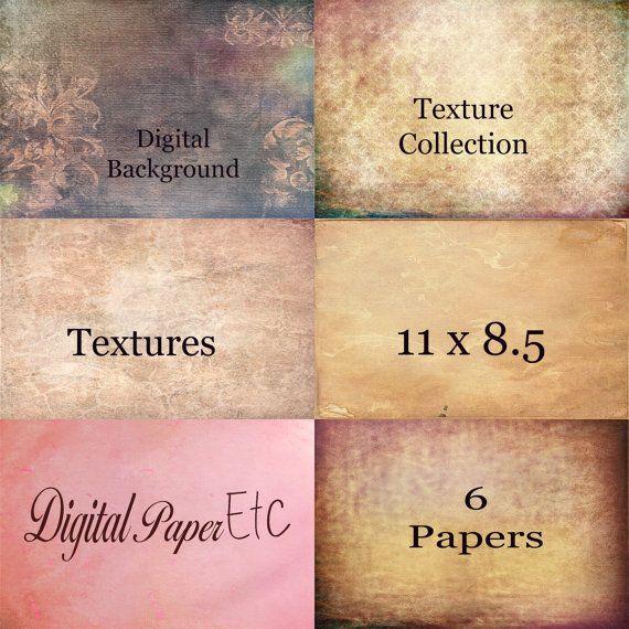 Digital Texture Paper Digital Background Paper by digitalpaperetc