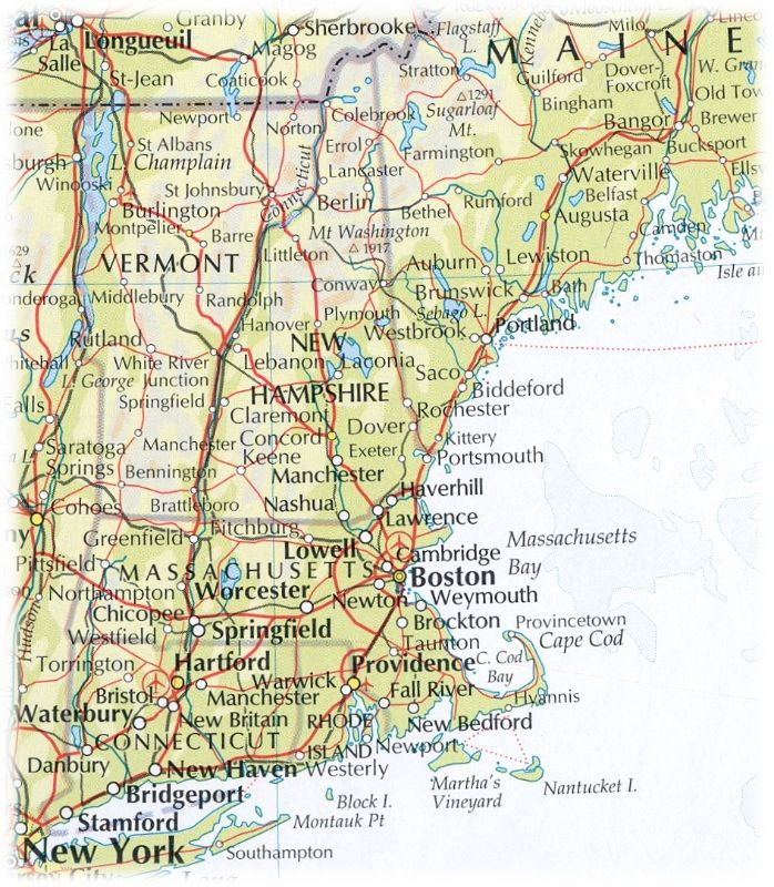 Cheasapeake Region Map 1630 Of New England Hunter's