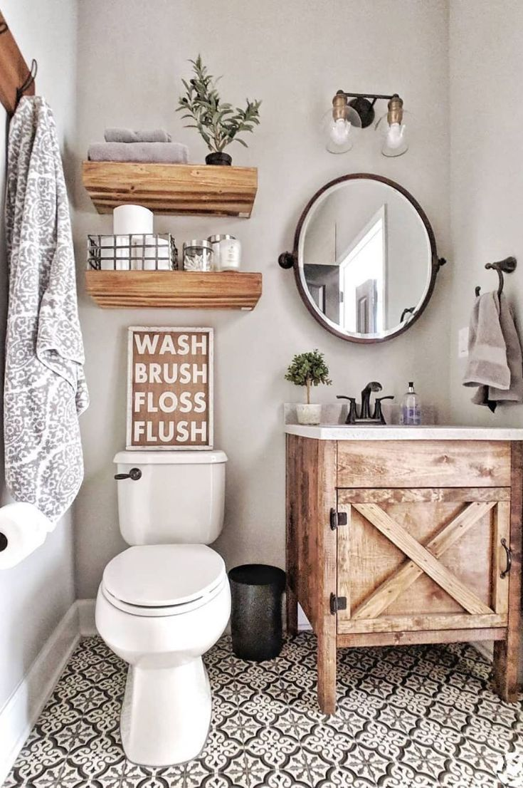 Are you searching for images for farmhouse bathroom? Browse around this site for very best farmhouse bathroom inspiration. This particular farmhouse bathroom ideas appears to be absolutely excellent. Bathroom Renos, Basement Bathroom, Bathroom Ideas, Master Bathroom, Small Bathroom Redo, 1950s Bathroom, Barn Bathroom, Narrow Bathroom, Wood Vanity