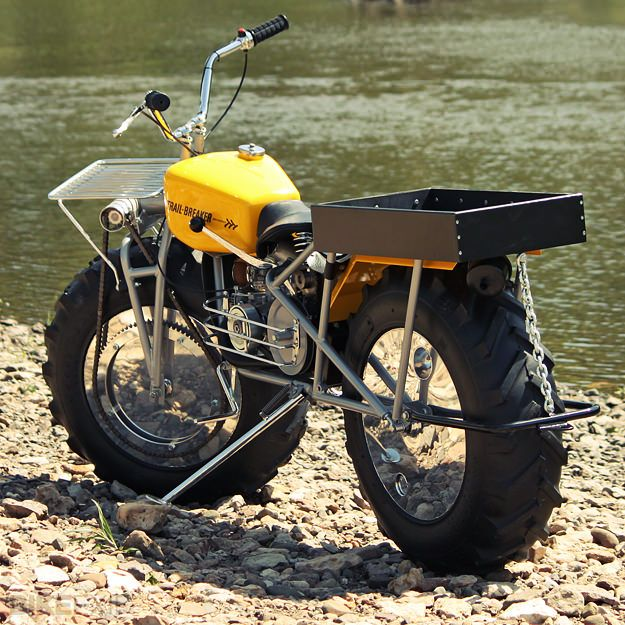 2WD Rokon Trailbreaker - Can it get any cooler? Didn't think so, no!