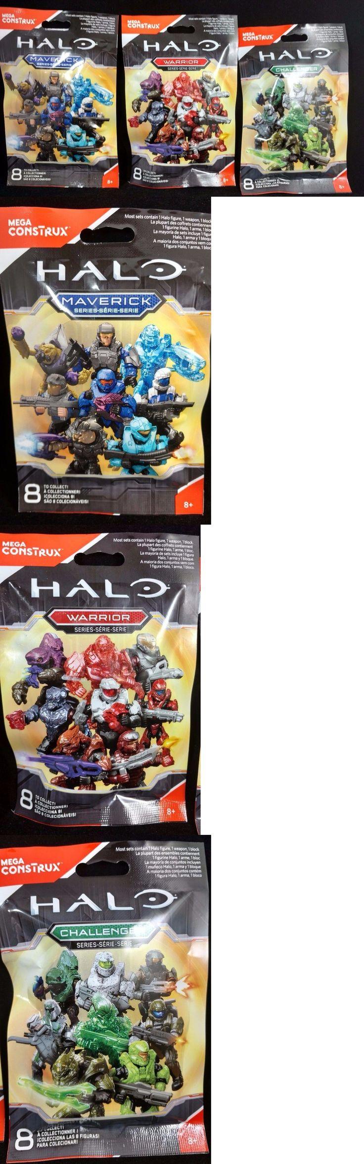 Mega Bloks 52338: Halo Mega Construx Warrior Maverick Challenger Series Blind Bags New (Lot Of 39) -> BUY IT NOW ONLY: $95 on eBay!