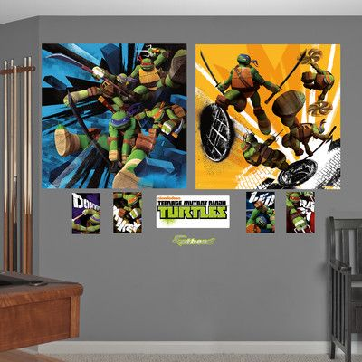 Ninja Turtle Wall Decor 50 best kenzos bedroom images on pinterest | ninja turtle bedroom