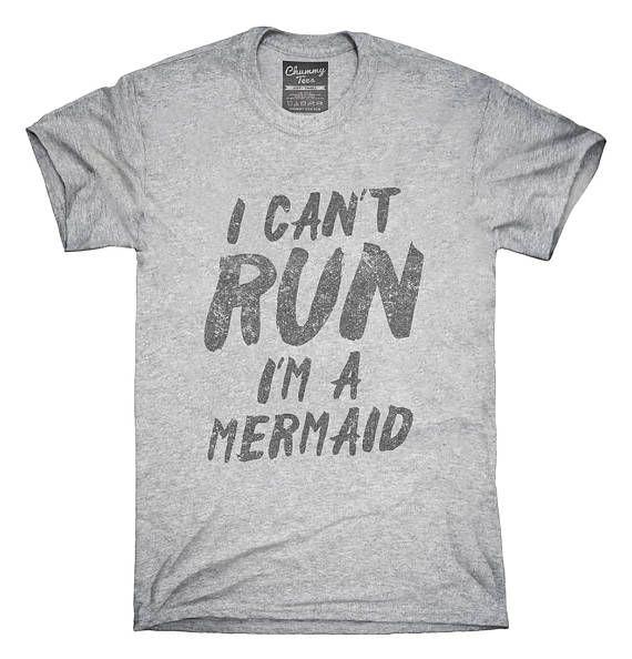 Ik kan niet lopen dat ik ben een zeemeermin T-Shirt Hoodie