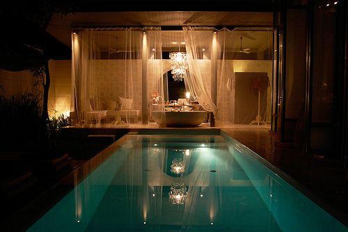 pool house: Ideas, Spaces, Favorite Places, Dream House, Beautiful, Bathroom, Pools, Design