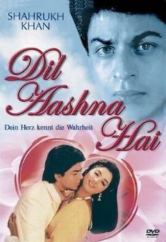 Shah Rukh Khan and Divya Bharti - Dil Aashna Hai (1992) - German edition