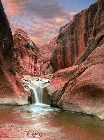 Red cliffs, Utah