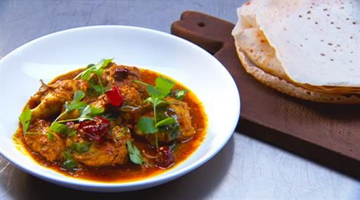 Desi Murgh – Southern Indian chicken curry with appam  | MasterChef Australia #masterchefrecipes