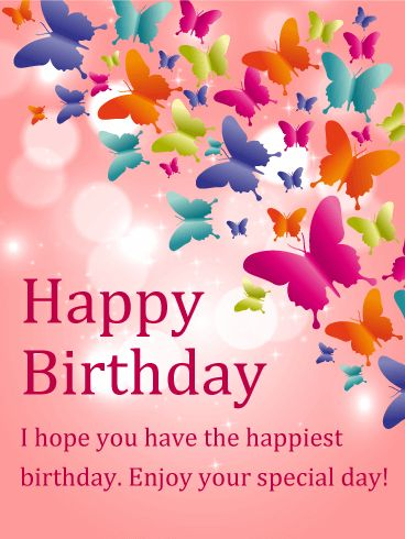 Shining butterfly happy birthday card birthday card pinterest shining butterfly happy birthday card birthday card pinterest birthday wishes birthday and happy birthday m4hsunfo