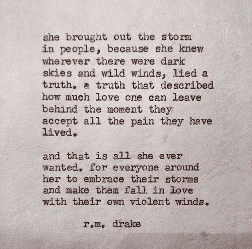 She Was Fierce Rm Drake Quotes. QuotesGram by @quotesgram