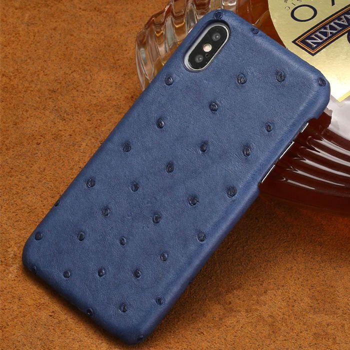new style 98d8d c92d5 Ostrich iPhone XS Max, XS, X Case, iPhone XS Max, XS, X Ostrich Skin ...