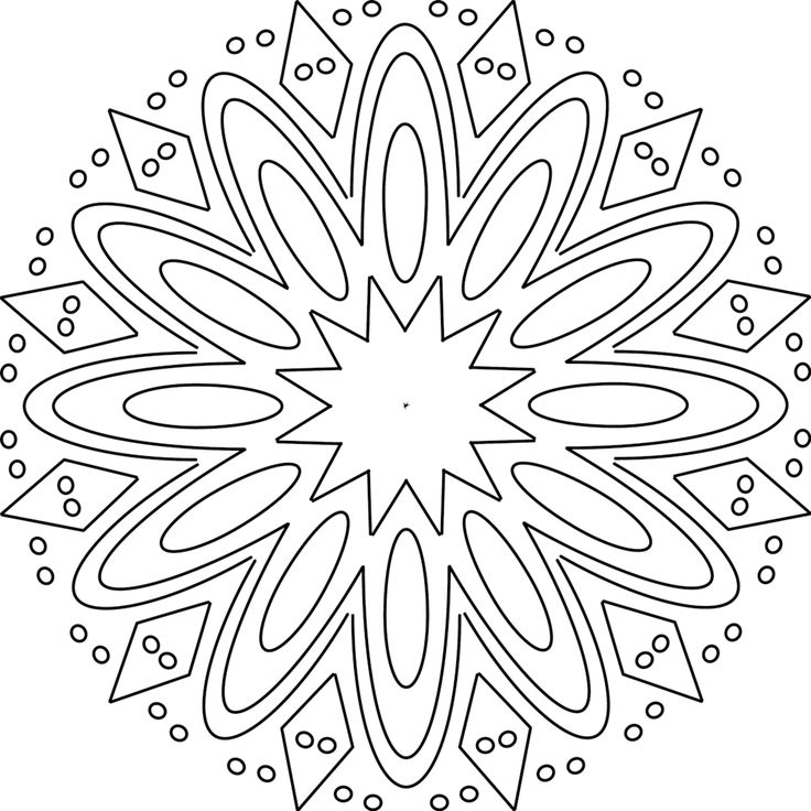 1000 Ideas About Mandala Printable On Pinterest Mandala