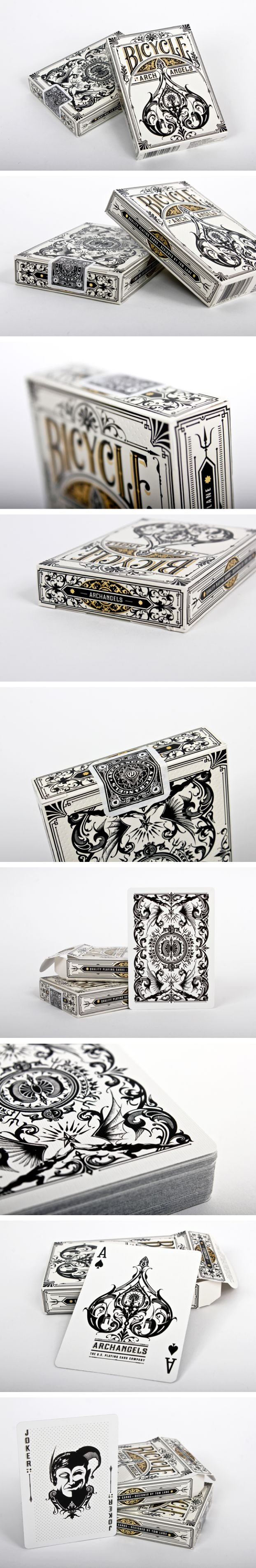 """""""Bicycle Playing Cards -Theory11 / Bicycle by gingermonkey"""""""