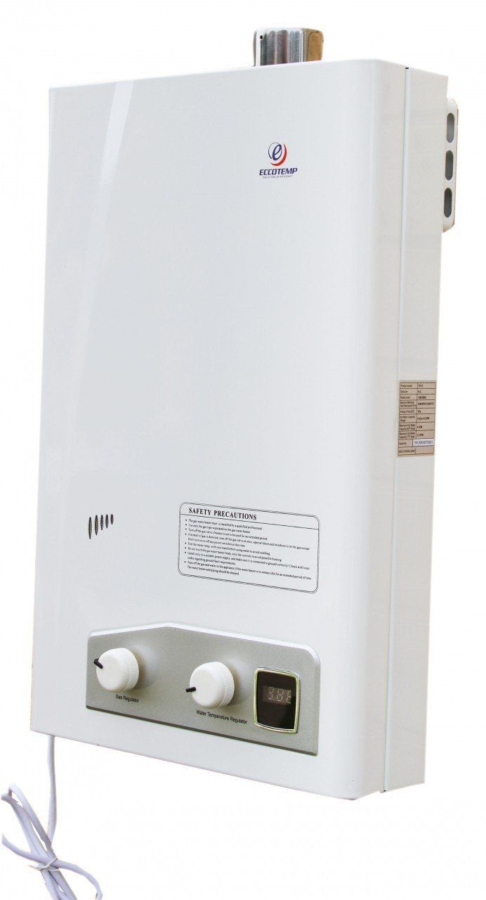 Little big life with a propane tankless water heater you have instant hot water for