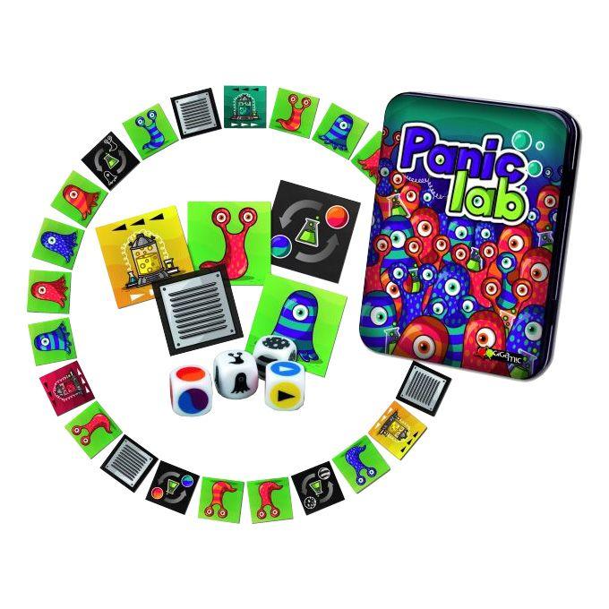 Panic lab kártyajáték, mókás, 2-10 játékosnak