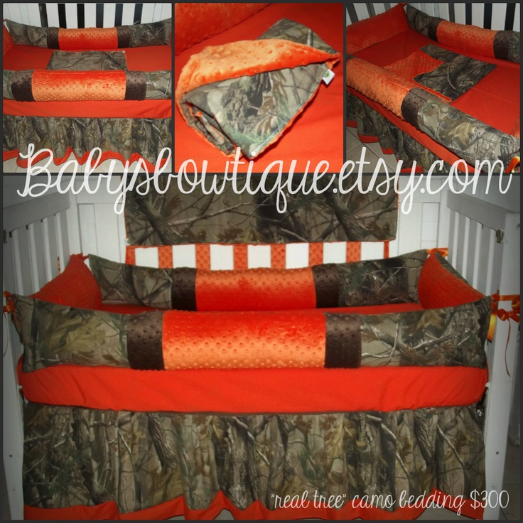 camo baby bedding only yellow