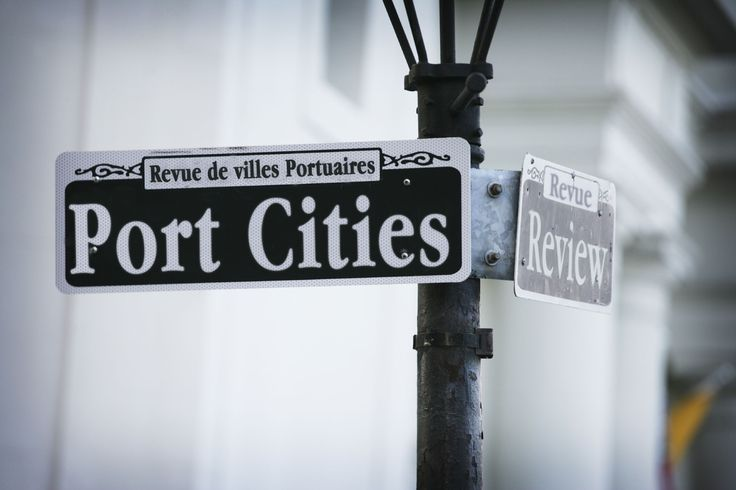 New Orleans-style image for Port Cities Review literary magazine (Photoshop)