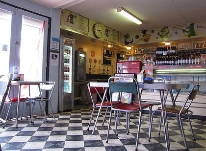 Broken Hill Milk Bar, unchanged since the 50's. Bells Milk Bar & Musuem | History milked for all it's worth