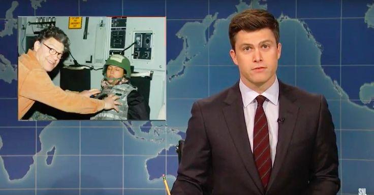 'Saturday Night Live' Takes Aim at Al Franken an 'SNL' Alumnus - New York Times